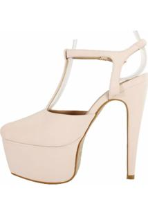 Sandália Week Shoes Chanel 15 Nude