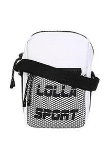 Bolsa Shoulder Bag Santa Lolla Sport Nylon Feminina - Feminino-Branco