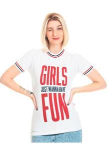 Camiseta Bloom Vintage Girls Useliverpool Feminina - Feminino