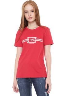 Camiseta Calvin Klein Jeans 1978 Vermelha
