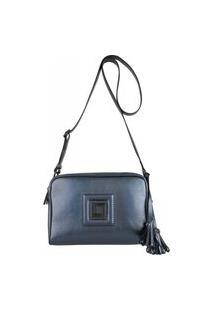 Bolsa Feminina Em Couro 5324 Azul