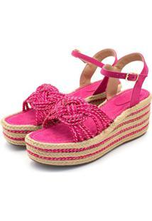 Sandália Anabela Avalon 180995 Pink