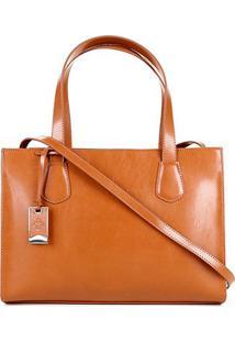 Bolsa Capodarte Handbag Feminina - Feminino-Caramelo