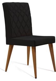 Cadeira Julia T1104-Daf Mobiliário - Preto