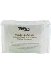 Capa Protetora Para Colchão Comfort Branca