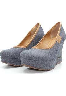 Scarpin Barth Shoes Land Sl Jeans - Jeans - Azul/Jeans - Feminino - Dafiti