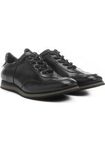 Sapatênis Couro Shoestock Jogging Masculino - Masculino