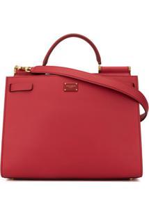 Dolce & Gabbana Bolsa Tote Sicily 62 - Vermelho