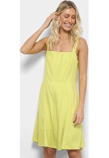ee0d0f0ca Vestido Amarelo Laco feminino   Gostei e agora?