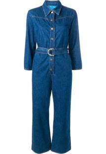 Mih Jeans Macacão Jeans Harper - Azul