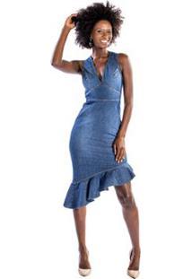 acff24f0c Vestido Colcci Trico feminino