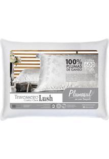 Travesseiro Pluma De Ganso Lush 600 Fios 50X70Cm Plumasul