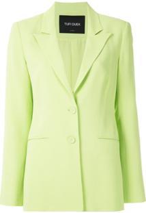 Tufi Duek Blazer De Alfaiataria - Verde