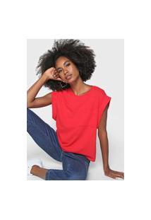 Camiseta Dzarm Muscle Vermelha