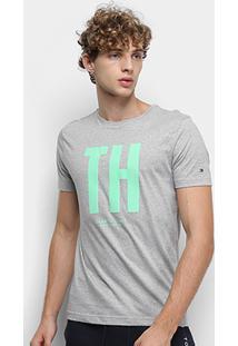 Camiseta Tommy Hilfiger Big Th Masculina - Masculino