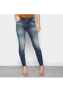 Calça Jeans Skinny Colcci Fátima Estonada Feminina - Feminino