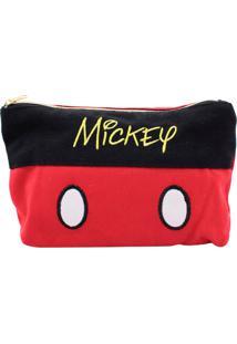Necessaire Minas De Presentes Mickey Preta