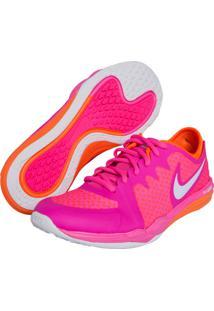 Tênis Nike W Dual Fusion Tr 3 Print Rosa