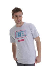 Camiseta Fatal Estampada 22113 - Masculina - Cinza Claro