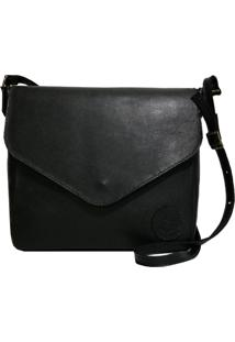 Bolsa Line Store Leather Margot Couro Preto.