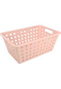 Cesta Organizadora One Grande 28,8X19,1Cm Rosa Blush