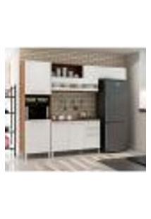 Cozinha Compacta Carménere 5 Pt 2 Gv I Branca E Sevilha