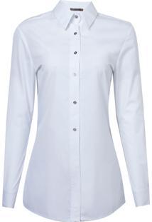 Camisa Bobô Madonna Algodão Branco Feminina (Branco, 44)