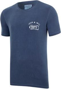 Camiseta Especial Jeep E Wsl Wrangler Trip Lavada Masculina - Masculino