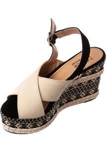 Anabela Butique De Sapatos Linho Cru