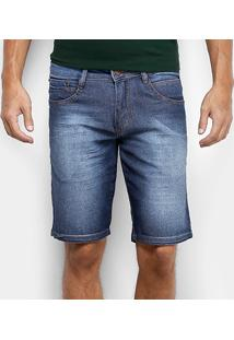 Bermuda Jeans Biotipo Indigo Stone Masculina - Masculino