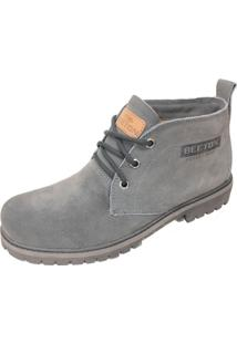 Bota Beeton Strong 404C Cinza