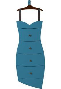 Cômoda Dress 4 Gv Azul