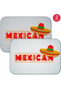 Jogo Americano Love Decor Mexican Off White - Off-White - Dafiti