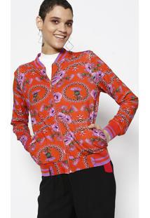 Jaqueta Floral- Vermelha & Pinklez A Lez