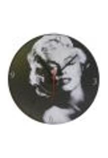 Relógio Em Vinil Marilyn Monroe