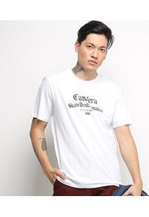 Camiseta T-Shirt Cavalera Estampada Masculina - Masculino