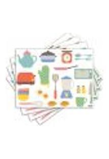 Jogo Americano - Cozinha Com 4 Peças - 230Jo