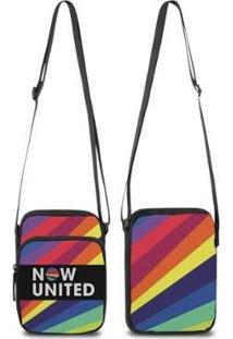 Mini Bolsa Marvs Bag Shoulder Transversal - Unissex-Azul
