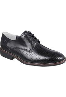 Sapato Casual Sandro & Co Masculino - Masculino-Preto