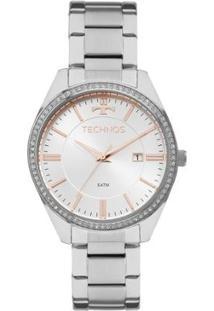 Relógio Technos Feminino Ladies 2115Mnc/1K 2115Mnc/1K - Feminino-Prata