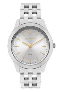 Relógio Technos Feminino Dress Prata 2035Mpn/1K 2035Mpn/1K