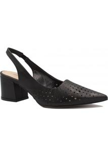 2c05ceedc Sapato Zariff Shoes Chanel Vazado