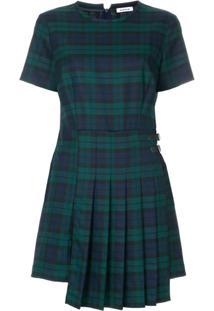 P.A.R.O.S.H. Vestido Xadrez - Green