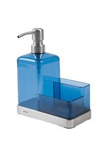 Organizador De Pia - Elegance 19,5 X 16 X 7,5 Cm Azul Brinox