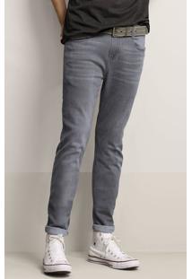 Calça Jeans Skinny Masculina Em Algodão Soft Touch