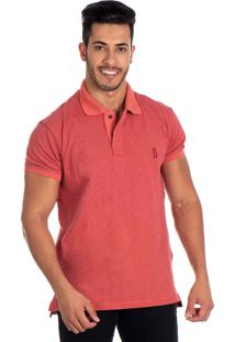 Camisa Polo Lucas Lunny Coral