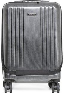 Mala Yins Brasil Bordo 20 Abs Compartimento Note - Masculino-Cinza