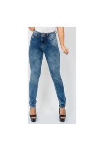 Calça Feminina Jeans Blue Soft Emporio Alex Jeans Azul