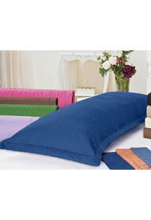 Porta Travesseiro Juma Xuxão Azul Royal