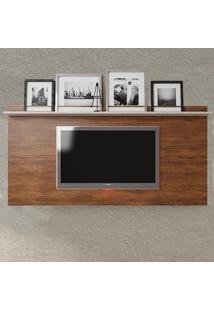 Painel Para Tv Até 55 Polegadas Jhon Seda/Off White - Viero Móveis